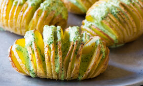 Crispy Hasselback Potatoes With Jalapeno Cilantro Sauce – Recipes Pioneer Woman Food Network