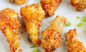 Crispy Korean Air Fried Chicken Wings – My Forking Life – Recipes Air Fryer Chicken Wings