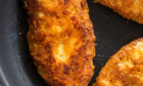 Crispy Parmesan Crusted Chicken Breasts (Low Carb – Keto ..