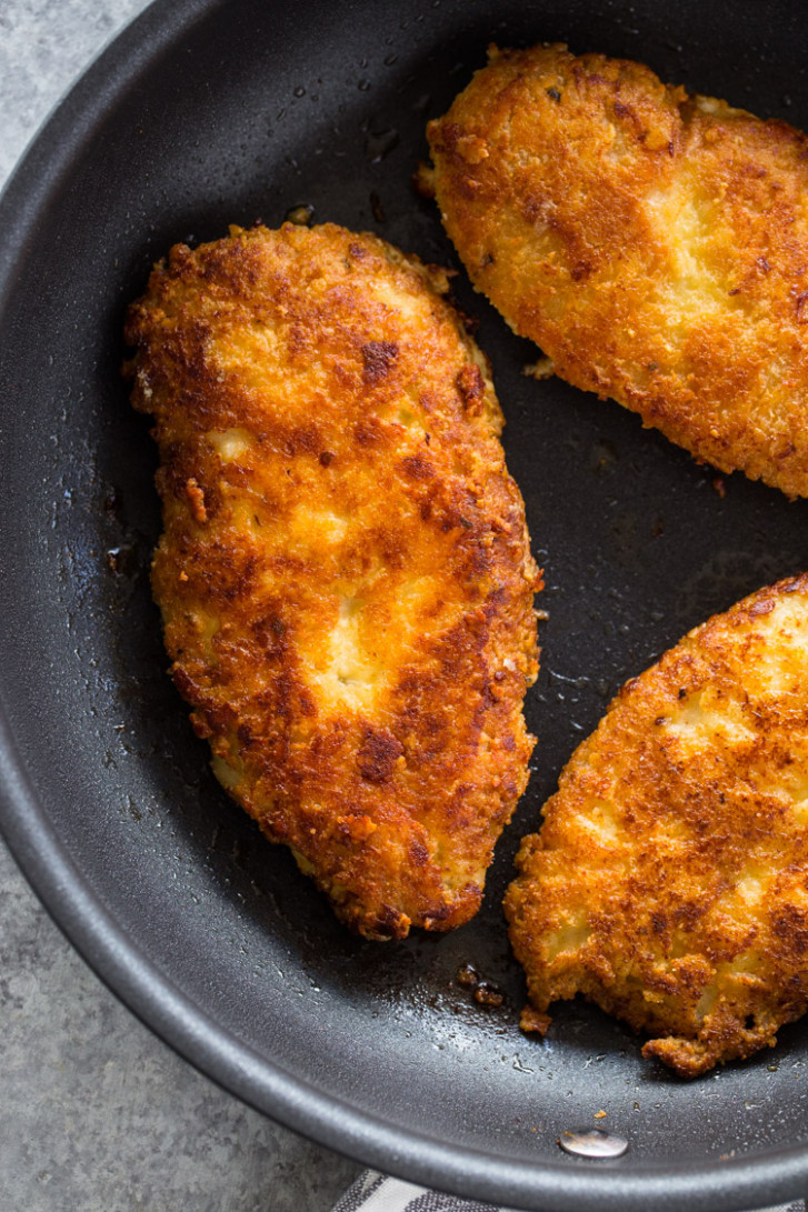 Crispy Parmesan Crusted Chicken Breasts (Low-Carb – Keto ..