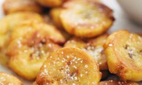 Crispy Salted Tostones Recipe – Pinch Of Yum – Recipes Nicaraguan Food