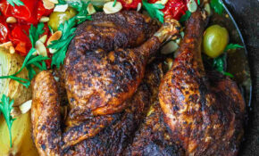 Crispy Spatchcocked Chicken Recipe | The Mediterranean Dish – Recipes For Chicken