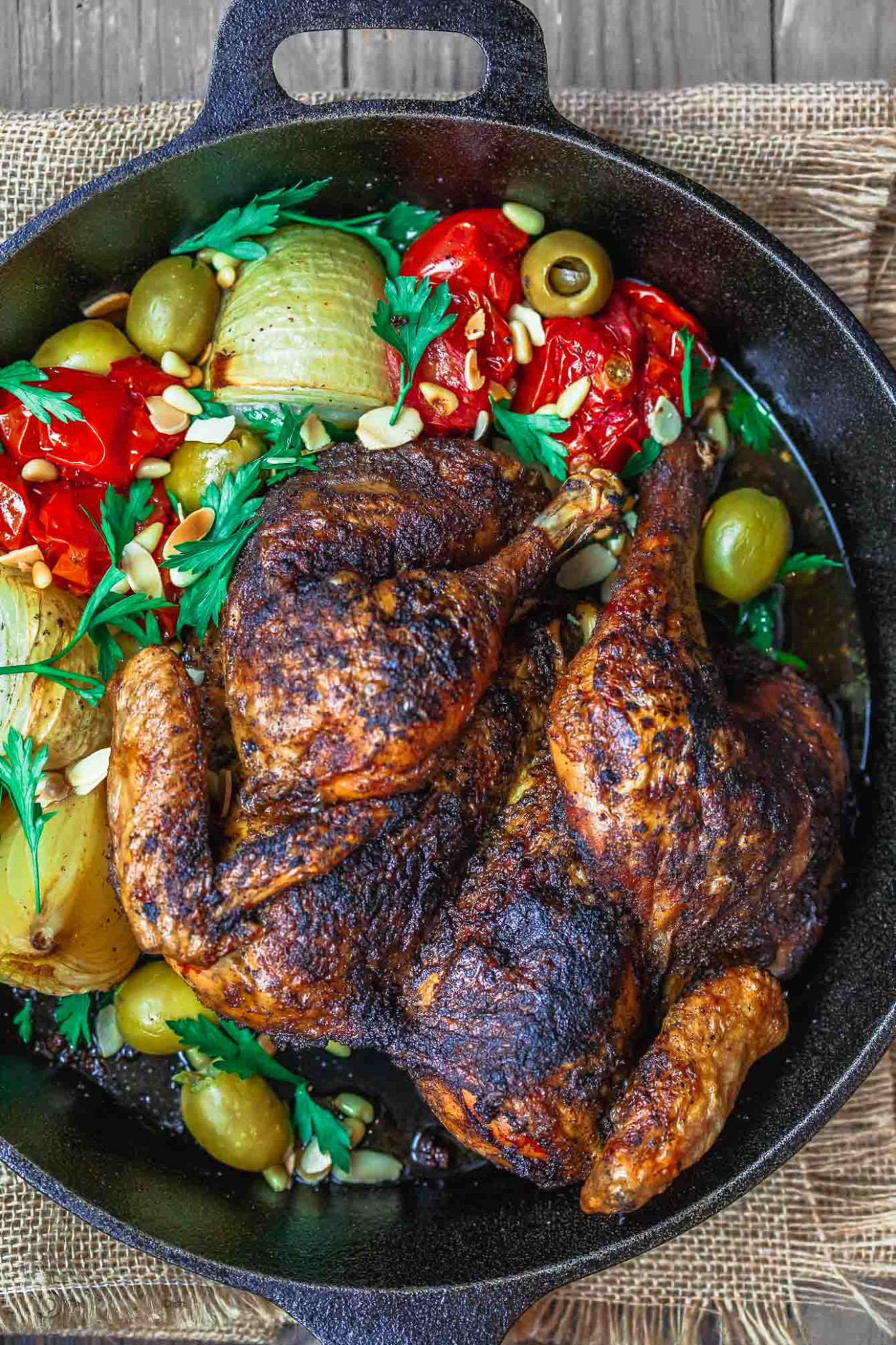 Crispy Spatchcocked Chicken Recipe | The Mediterranean Dish - recipes for chicken