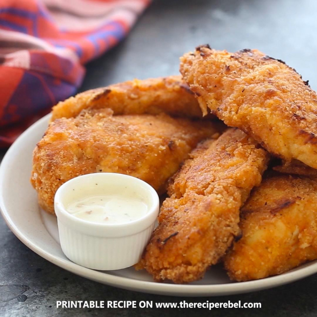 Crispy Sriracha Buttermilk Oven Fried Chicken Recipe By Tasty - Chicken Recipes Using Buttermilk