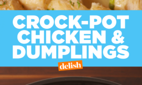 Crock Pot Chicken And Dumplings – Chicken Recipes In Crock Pot