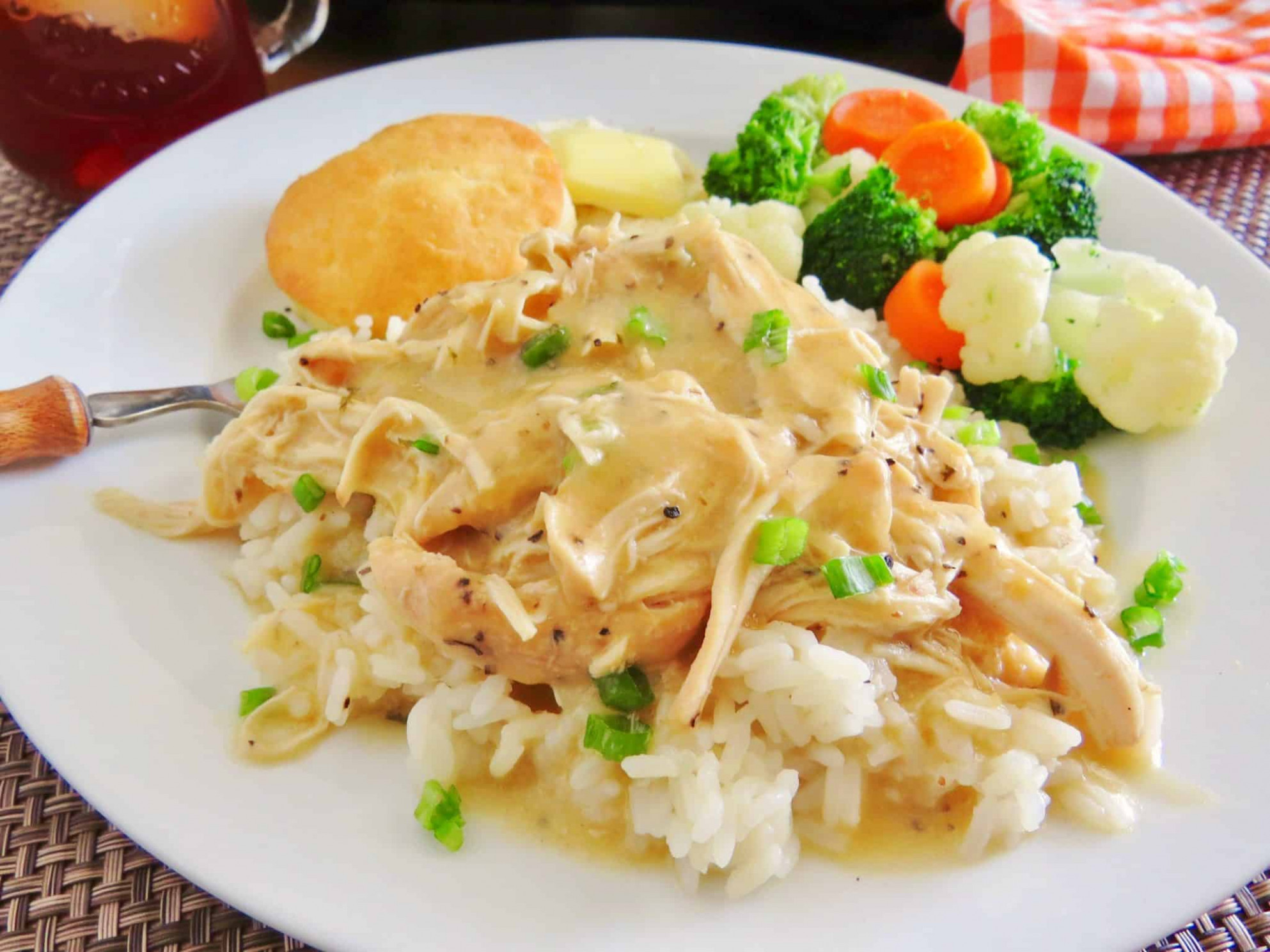 Crock Pot Chicken And Gravy - The Country Cook - Chicken Recipes Gravy