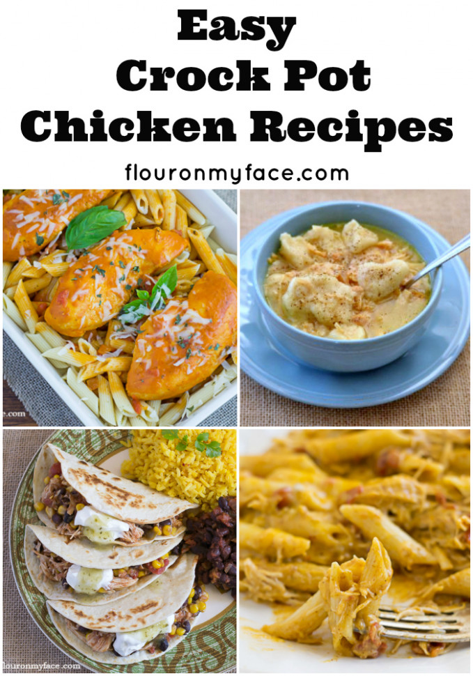 Crock Pot Chicken and Rice - Flour On My Face - chicken recipes for crock pot