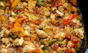 Crock Pot Chicken Fajitas – Life In The Lofthouse – Chicken Recipes For Crock Pot