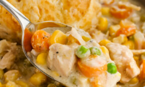 Crock Pot Chicken Pot Pie – Easy Peasy Meals – Easy Crock Pot Recipes Chicken
