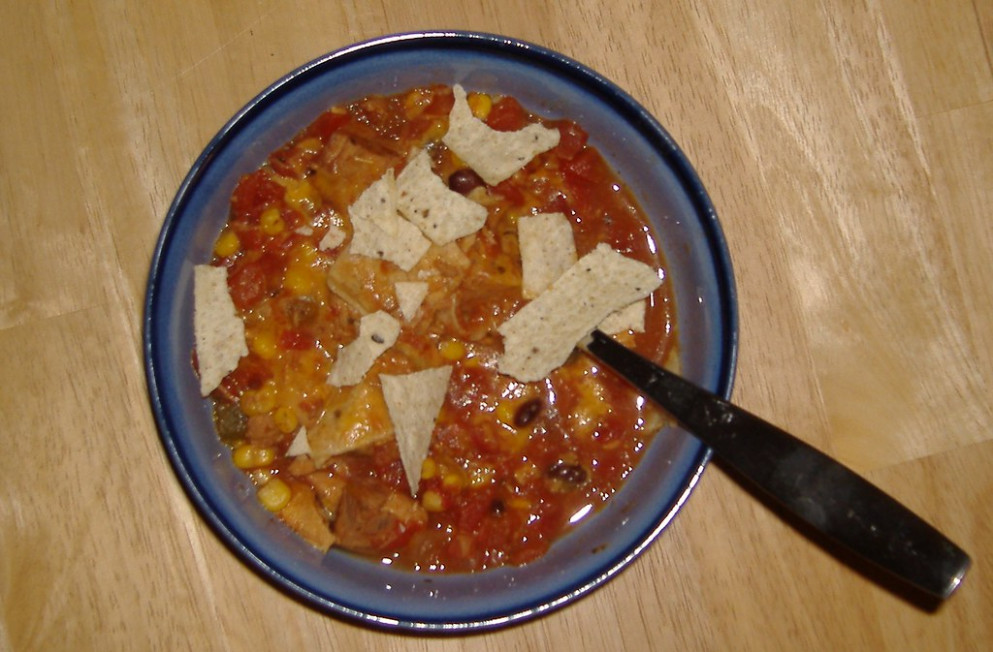 Crock Pot Chicken Taco Soup - easy crock pot recipes chicken