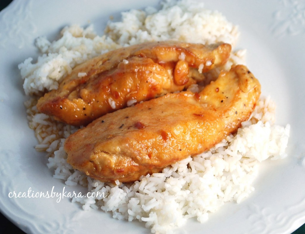 Crock pot lemon chicken - chicken recipes for crock pot