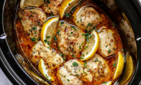 Crock Pot Lemon Garlic Butter Chicken Recipe  Best Crock ..