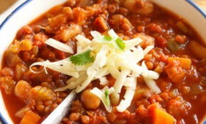 Crock Pot Vegetarian Chili (Slow Cooker) – The Busy Baker – Recipes Crock Pot Vegetarian