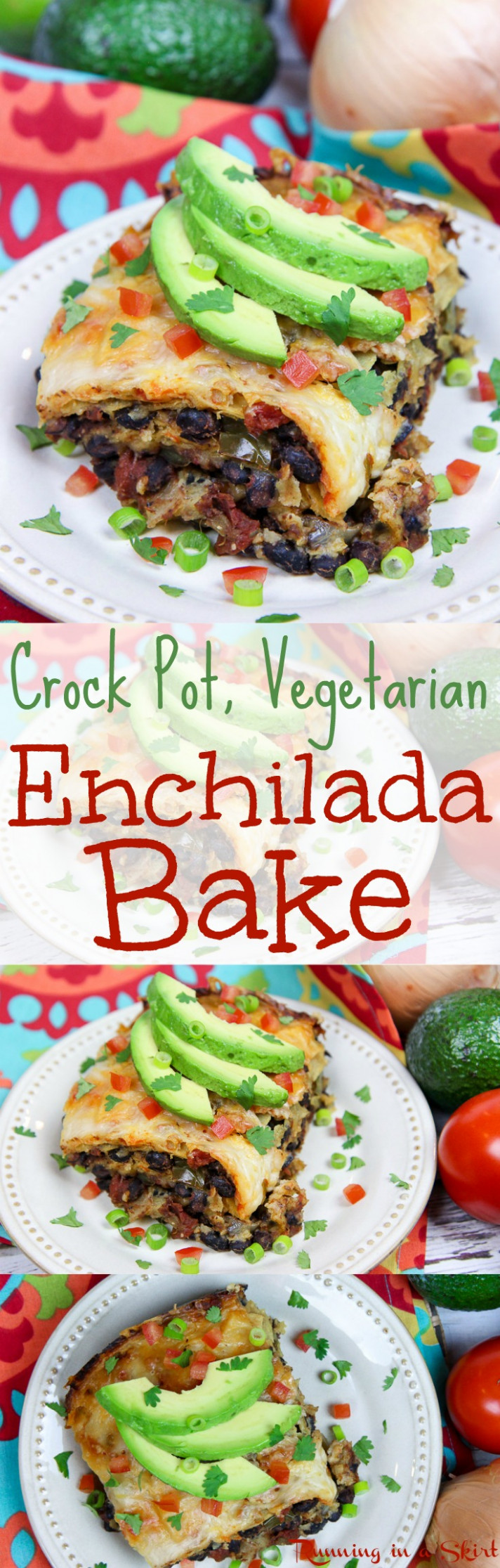 Crock Pot Vegetarian Enchilada Casserole - recipes crock pot vegetarian