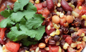 Crock Pot Vegetarian Three Bean Chili – Weight Watchers Recipes Vegetarian