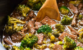 Crockpot Beef And Broccoli – Healthy Recipes Slow Cooker