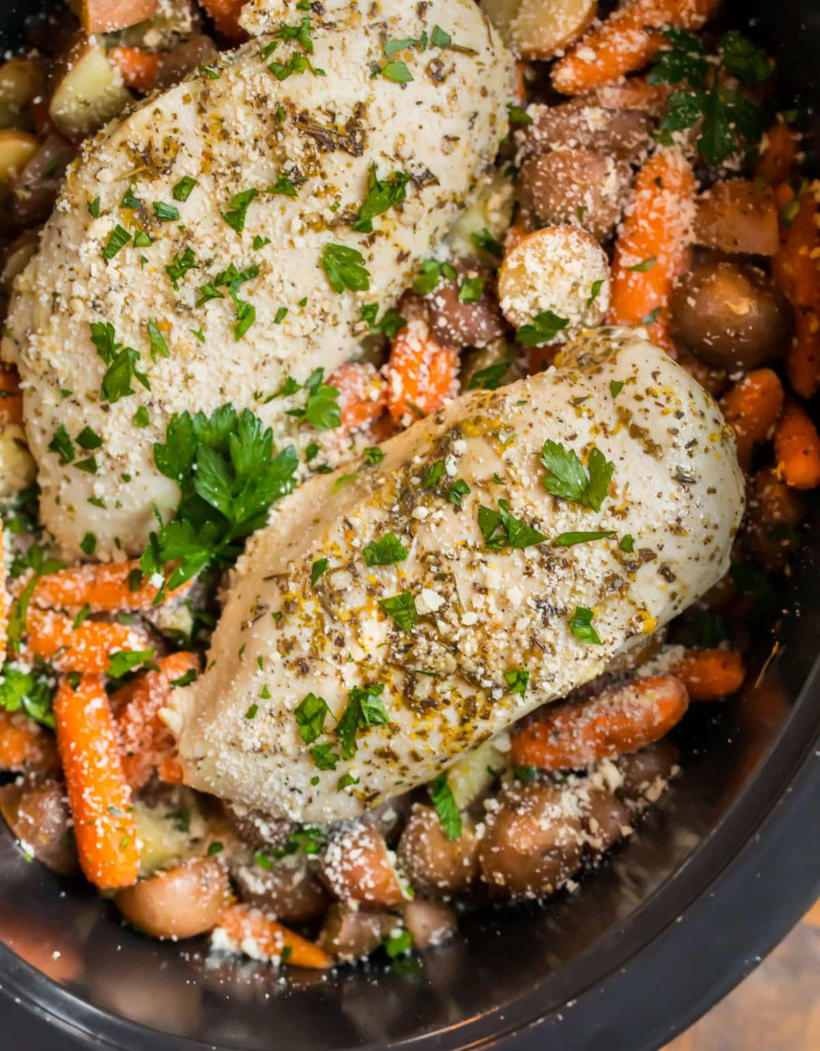 Crockpot Chicken and Potatoes - recipes in chicken