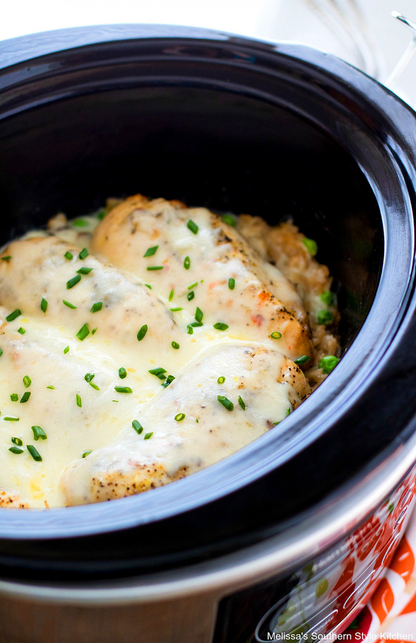 Crockpot Chicken and Rice - melissassouthernstylekitchen