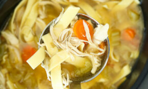 Crockpot Chicken Noodle Soup Recipe – Happy Healthy Mama – Chicken Noodle Soup Recipes