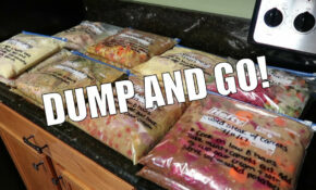 CROCKPOT FREEZER MEALS / PREP WITH ME – Food Recipes You Can Freeze