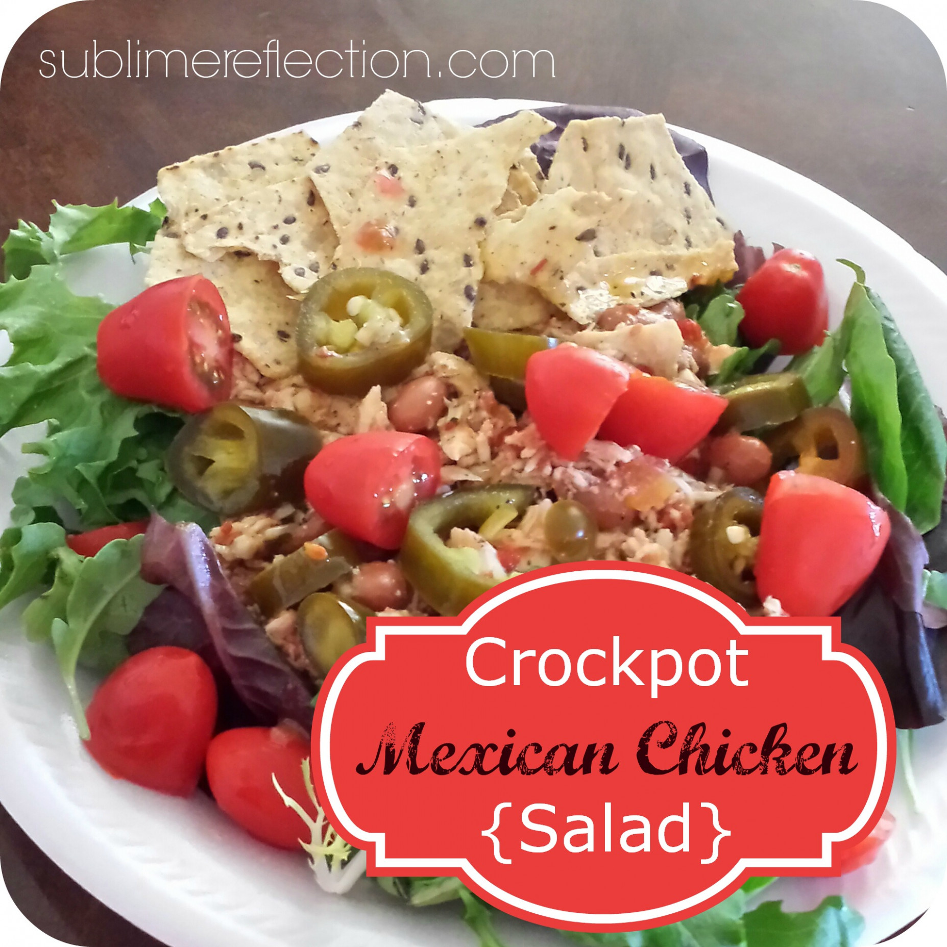 Crockpot Mexican Chicken - mexican recipes chicken