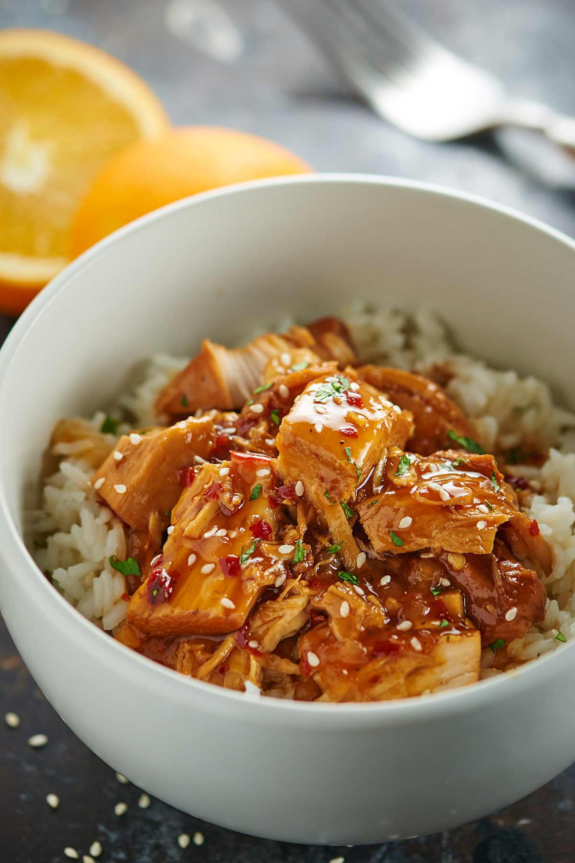 Crockpot Orange Chicken - chicken recipes yummy o yummy