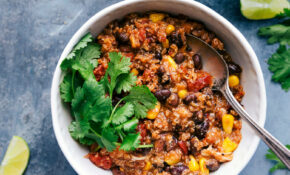 Crockpot Quinoa Chili – Recipe Vegetarian Quinoa Chili