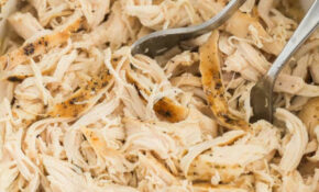 Crockpot Shredded Chicken (Slow Cooker) – The Recipe Rebel – Recipes Made With Shredded Chicken