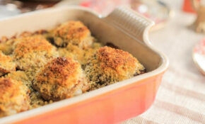 Crunchy Mustard Chicken Bake Recipe | Valerie Bertinelli ...