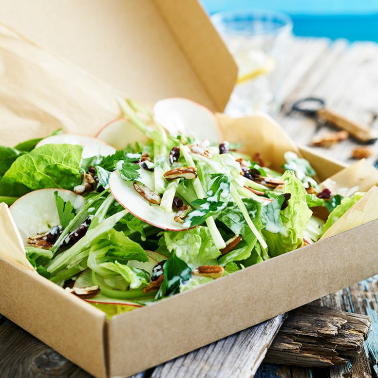 Crunchy waldorf salad with yoghurt dressing | Healthy ..