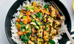 Cuban Mojo Chicken With A Citrus Avocado Salsa – Avocado Recipes Chicken
