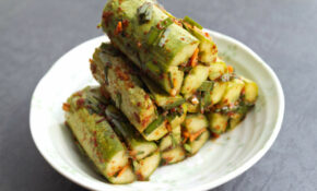 Cucumber Kimchi – Korean Food Recipes