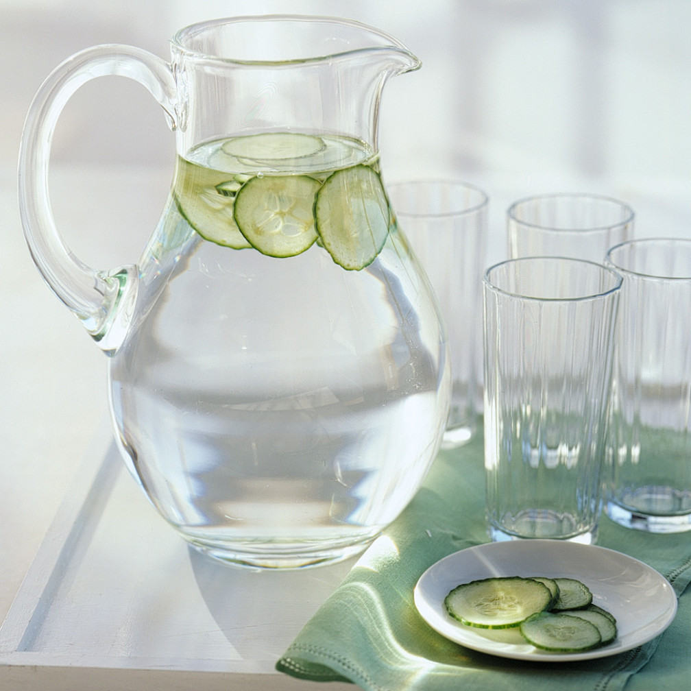 Cucumber Water | Martha Stewart - recipes dinner vegetarian