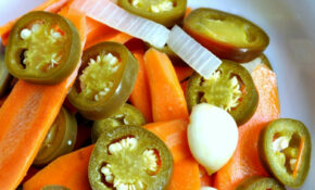 Cultured Foods: Fermented Spicy Carrots Recipe - Happy Mothering
