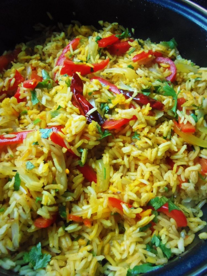 Cumin and Lime Rice - Hispanic Kitchen - FOR PHASE 1 USE ..