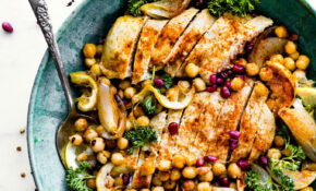 Cumin Roasted Chickpea Chicken Bowls Recipe | Cotter Crunch – Recipes Bowl Food