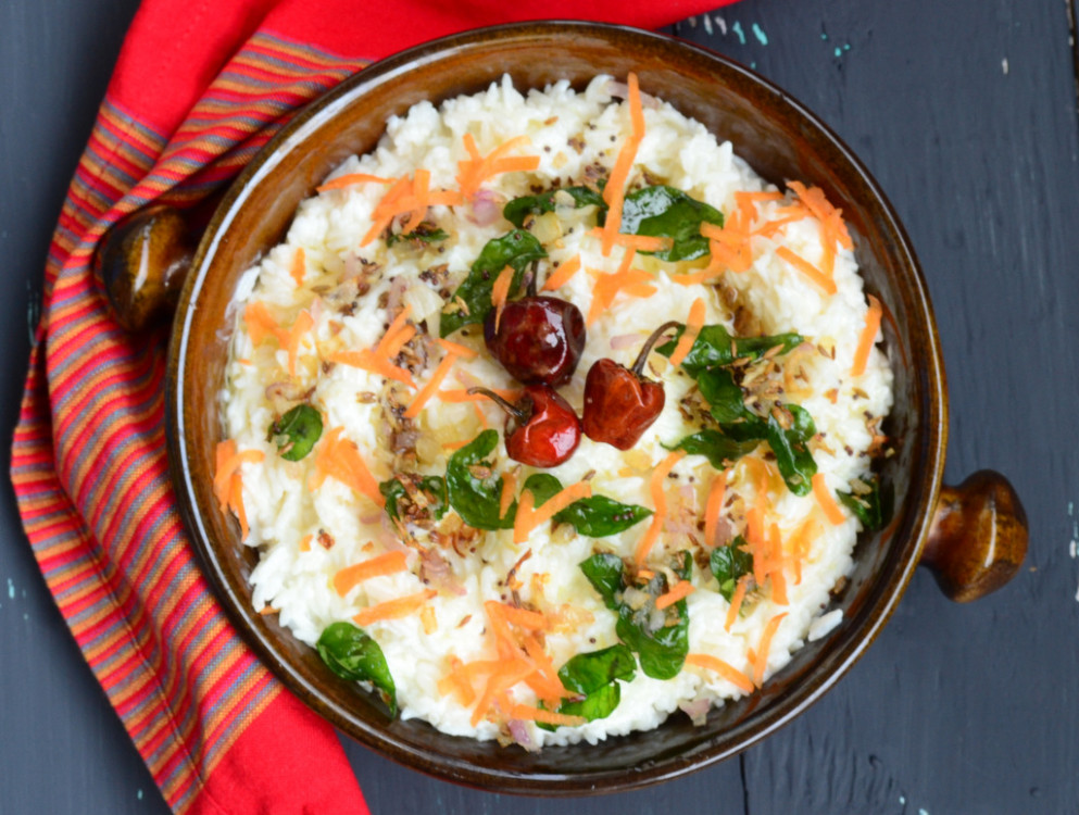 Curd Rice (South Indian Style) Recipe | My India - Recipes Of Indian Food