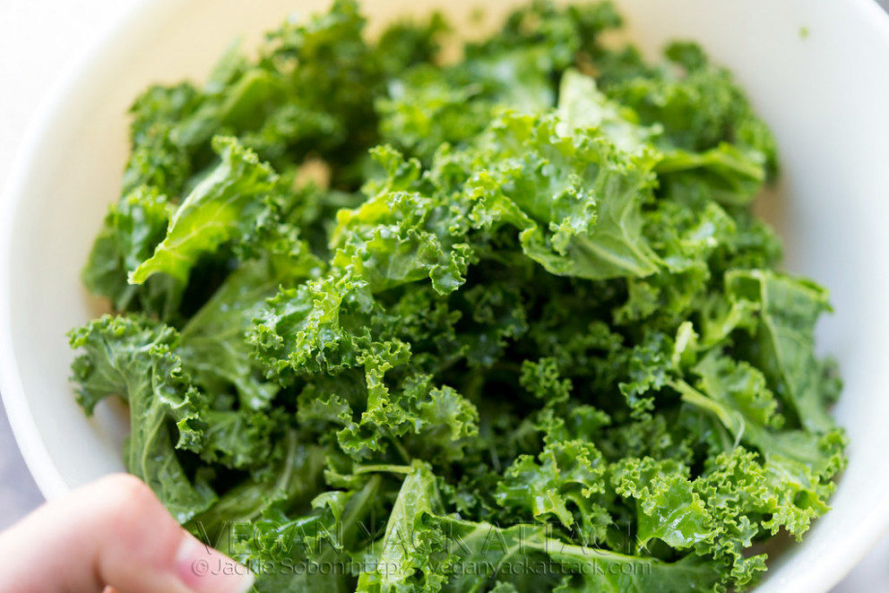 Curly Kale - healthy recipes roasted vegetables