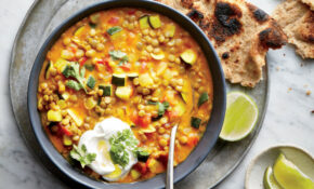 Curried Lentil And Vegetable Stew Recipe – Cooking Light – Vegan And Vegetarian Recipes