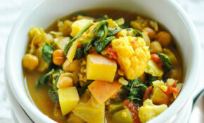 Curried Vegetable and Chickpea Stew
