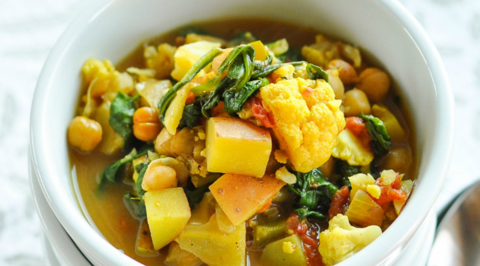 Curried Vegetable and Chickpea Stew - recipes vegetarian curry