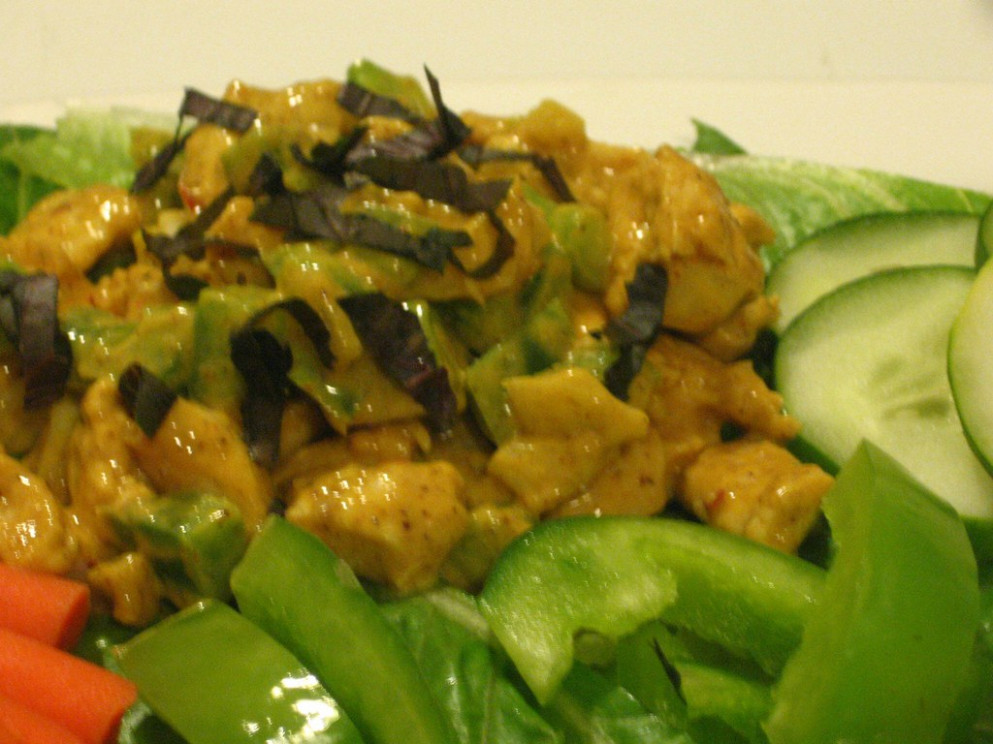 Curry Chicken Salad - dinner recipes with chicken