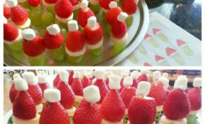 Cute Christmas Appetizer Idea Fruit Grinches! | Christmas ..