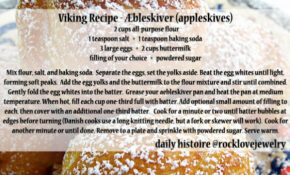 Daily Histoire | Behold! Viking Age Recipes For Your ..