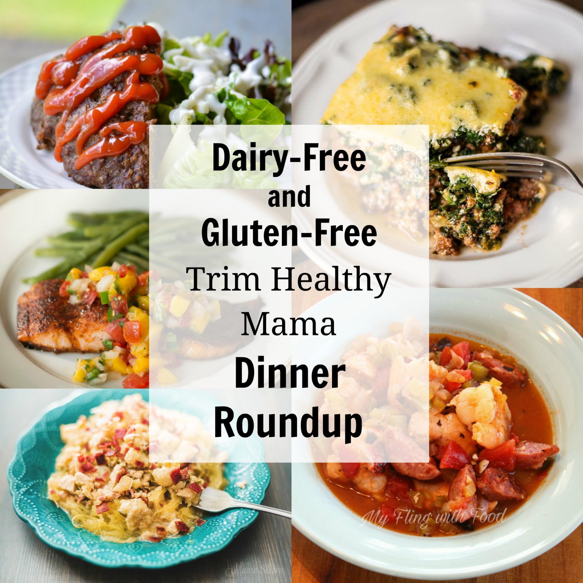 Dairy-Free and Gluten-Free Trim Healthy Mama Dinners - MamaShire - trim healthy mama recipes