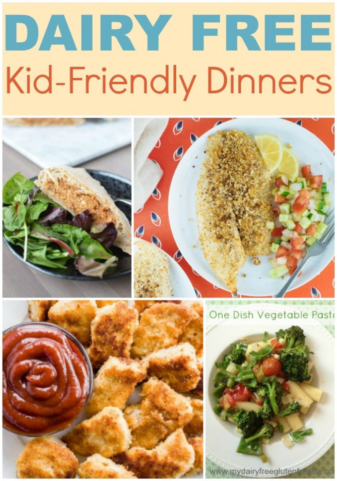 Dairy Free Kid Friendly Recipes For Every Meal ..