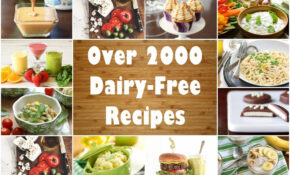 Dairy Free Recipes: Over 2500 Meals, Desserts, Snacks & More – Dinner Recipes Dairy Free