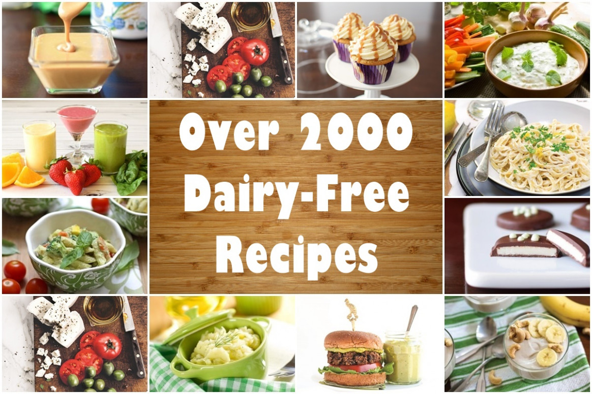 Dairy-Free Recipes: Over 2500 Meals, Desserts, Snacks & More - dinner recipes dairy free