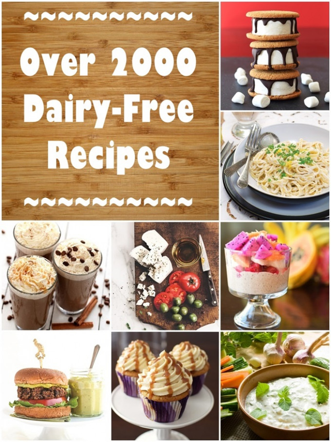Dairy-Free Recipes: Over 2500 Meals, Desserts, Snacks & More - non dairy recipes dinner