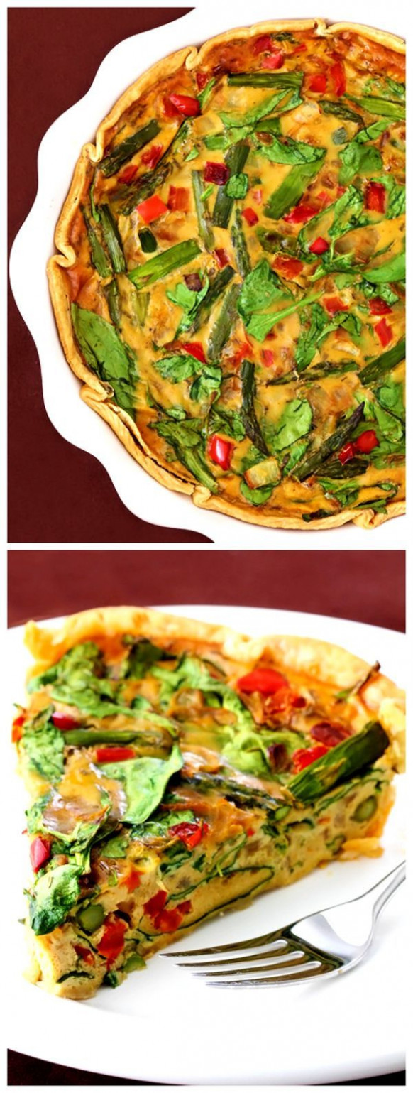Dairy-Free Vegetable Quiche (with eggs) | Recipe | Healthy ..